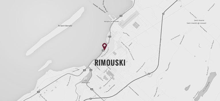Hôtel Rimouski - Location